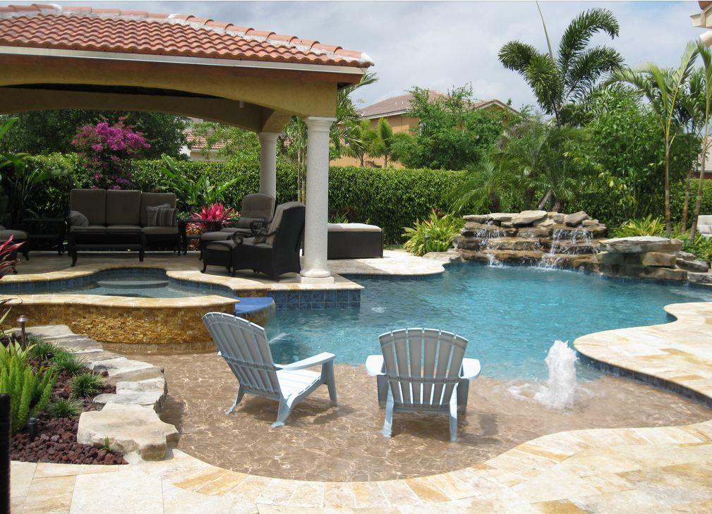 Freeform Swimming Pool   Pool Builders, Inc.