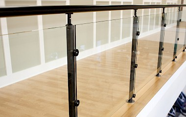 Home Architectural Handrail by Hollaender Railing