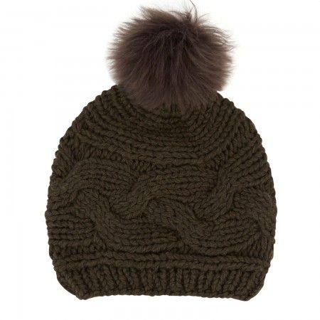Karl Donoghue Cable knit beanie hat