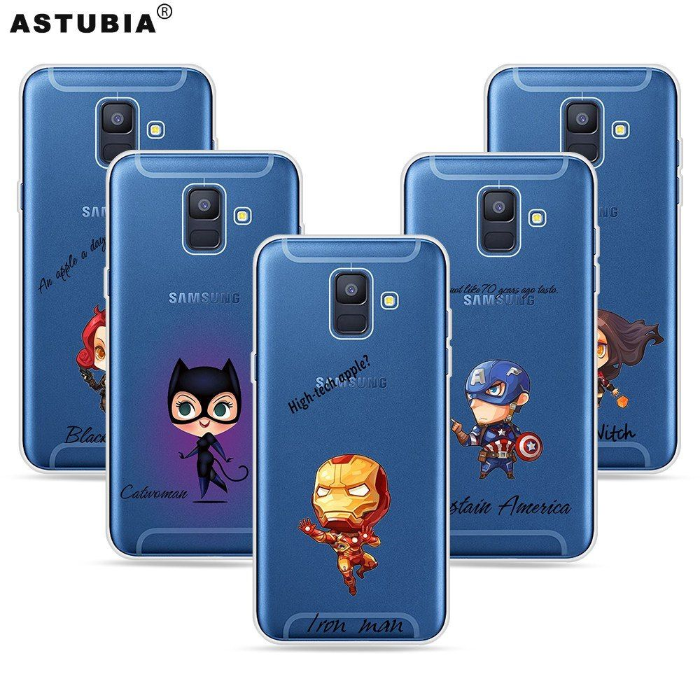 40 Cashback 45 Off Marvel Heros For Samsung A8 2018 Case Silicon Case