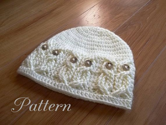 Crochet Pattern Its A Hoot Owl Hat Adult Baby And Toddlerchild