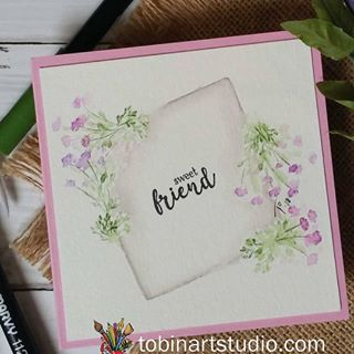 #watercolorweekend over at the Art Impressions blog. Share your creations using #aiwatercolor. Go see the awesome projects by my team members @dotjiris and @triciadollkennedy THEY ARE AWESOME!!...have a great weekend!!! #nh #watercolorpainting #watercolor #spring #flowers #aistamps #watercolortheartimpressionsway