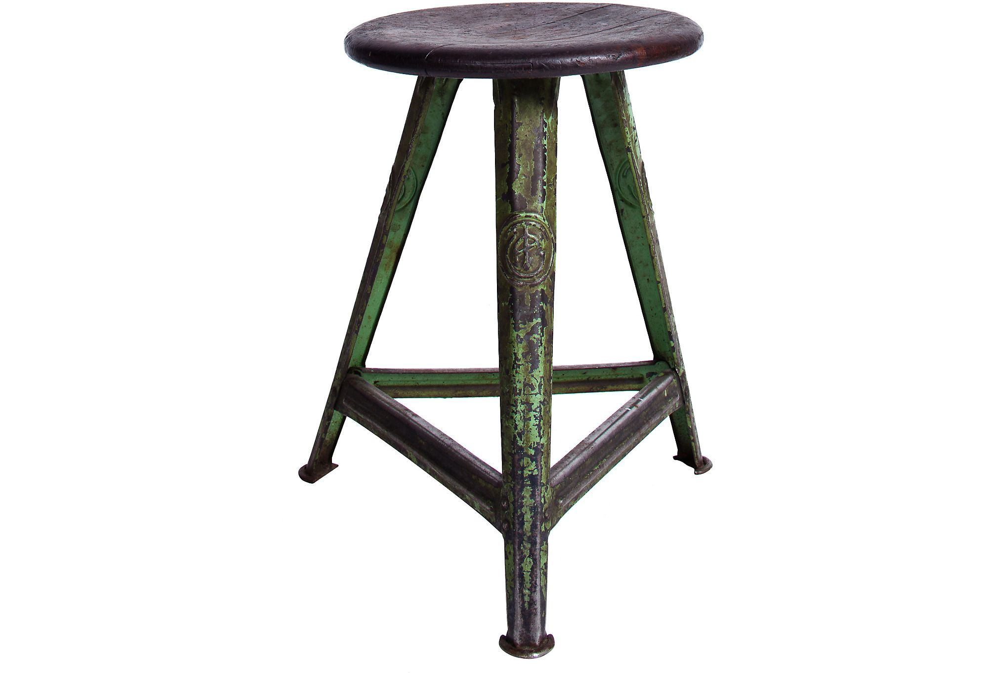 Groovy This Adorable Stool Has A Great Industrial Look With Its Gmtry Best Dining Table And Chair Ideas Images Gmtryco