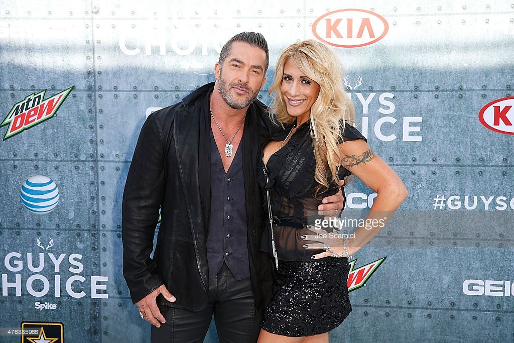 Skip Bedell and Alison Bedell attend Spike TV's 'Guys Choice 2015' at Sony Pictures Studios on June 6, 2015 in Culver City, California.