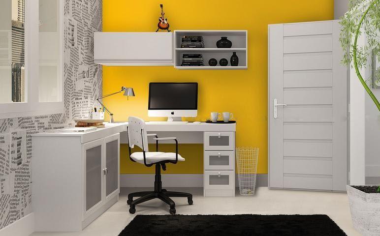 Sabia que você pode personalizar sua decoração com apenas alguns cliques?  Ter um escritório em casa é cada dia mais fundamental!