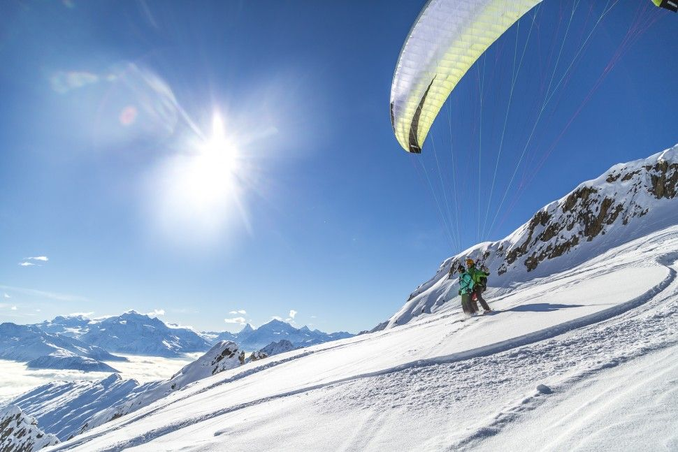 Paragliding from Hohstock to Chiematte - Belalp adventures