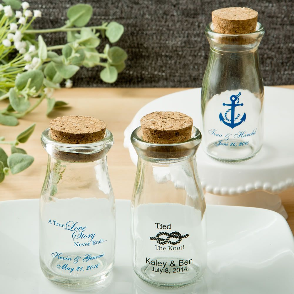 Design Your Own Personalized Vintage Milk Bottles W/ Round