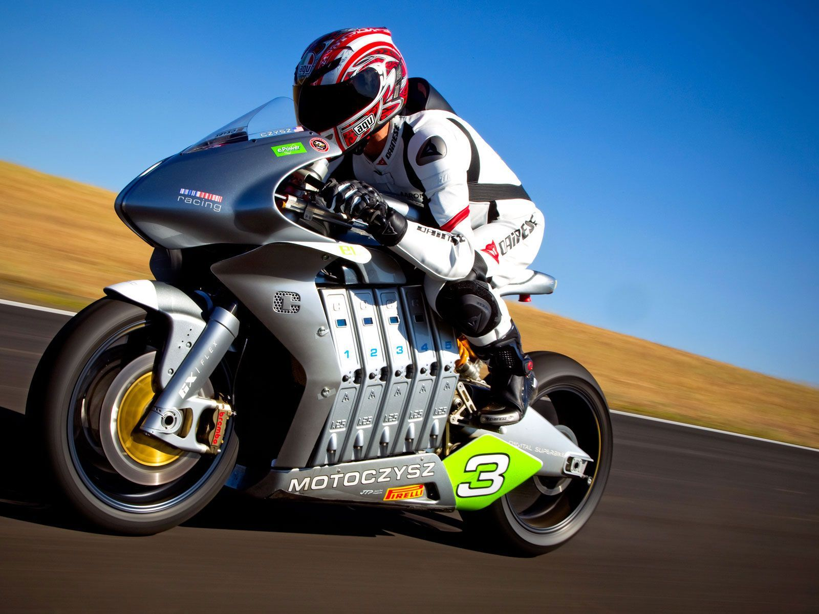 High Speed Motor Bike Hd Wallpaper With Images Racing Bikes