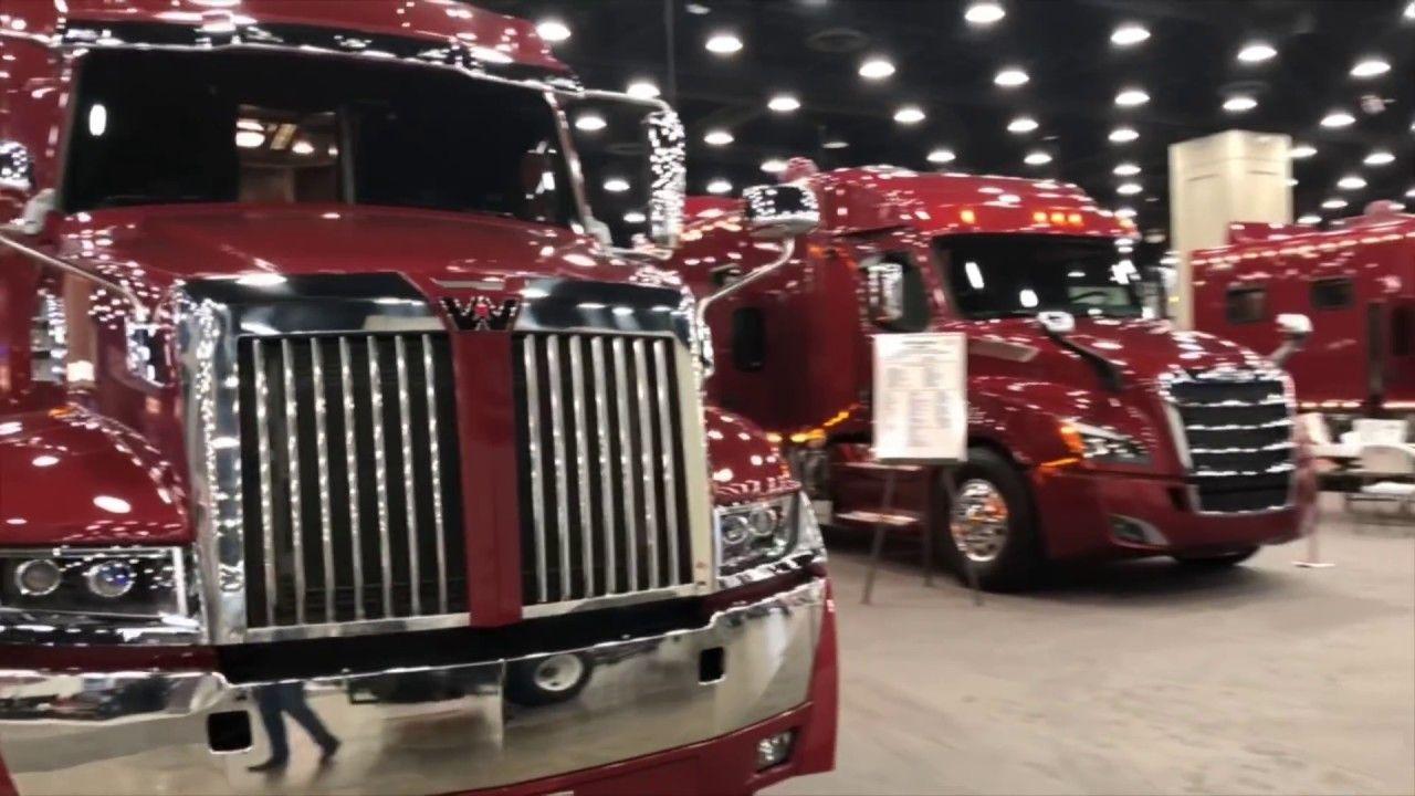 Mid america truck show walk around 2019 youtube trucks