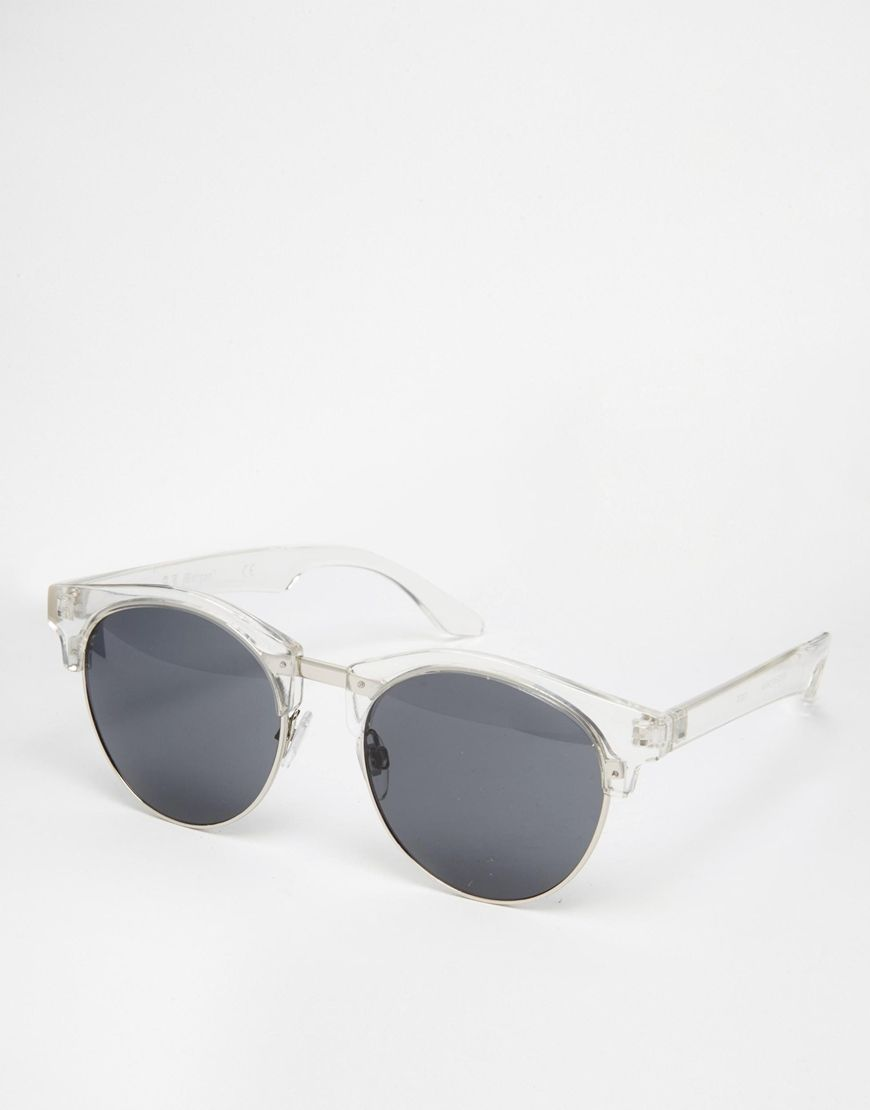 AJ Morgan round sunglasses in rose gold - Doré QJIzwaLfhn