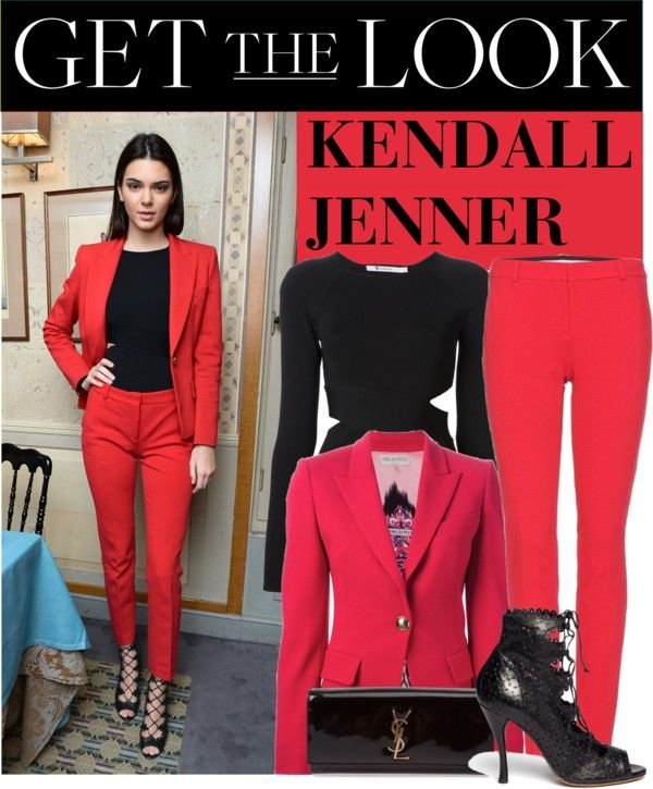 """""""Get the Look: Kendall Jenner"""" by cherryrose22 ❤ liked on Polyvore"""