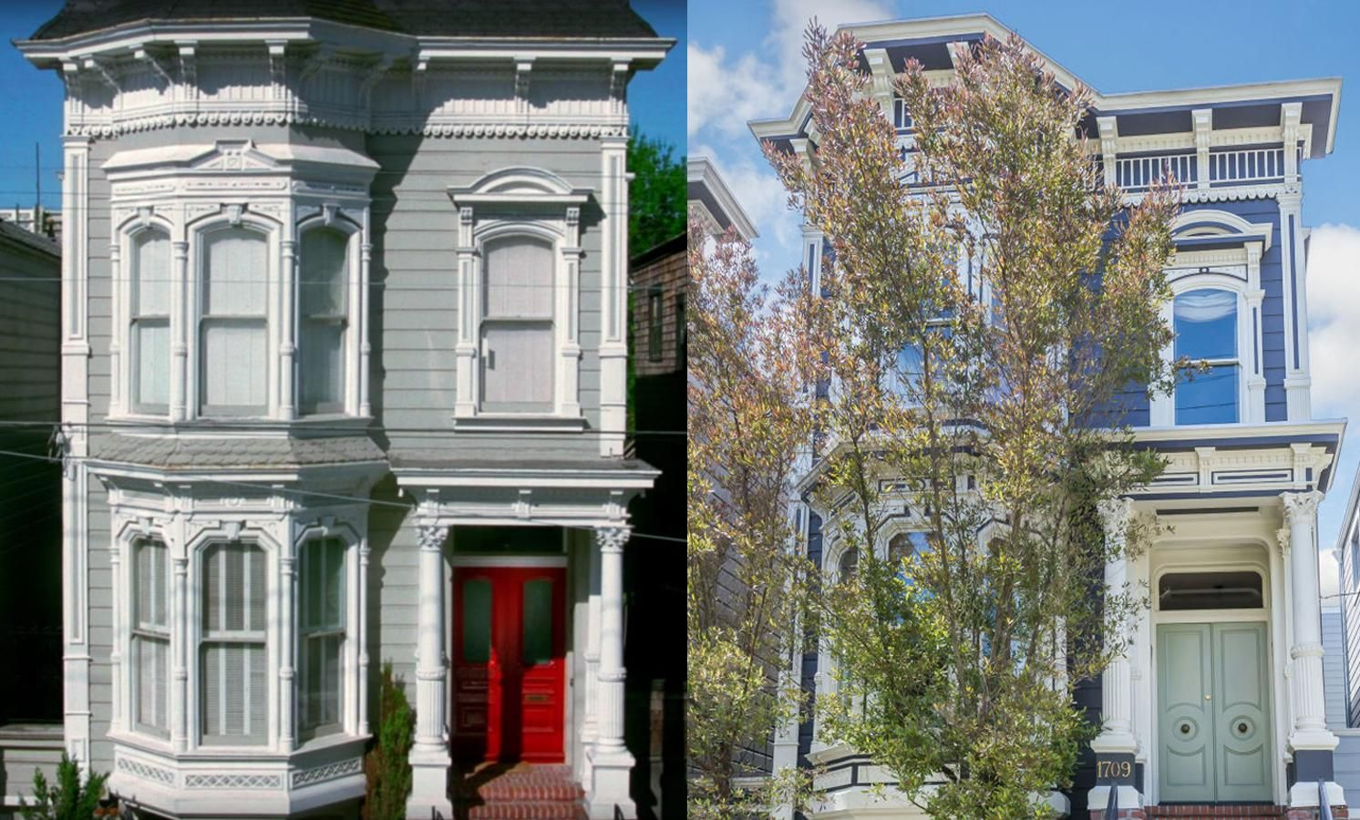 Marvelous Full House Home Broderick Street San Francisco Exterior Housea Revival May  The Works Variety · The LifestyleHouse PricesBig ...