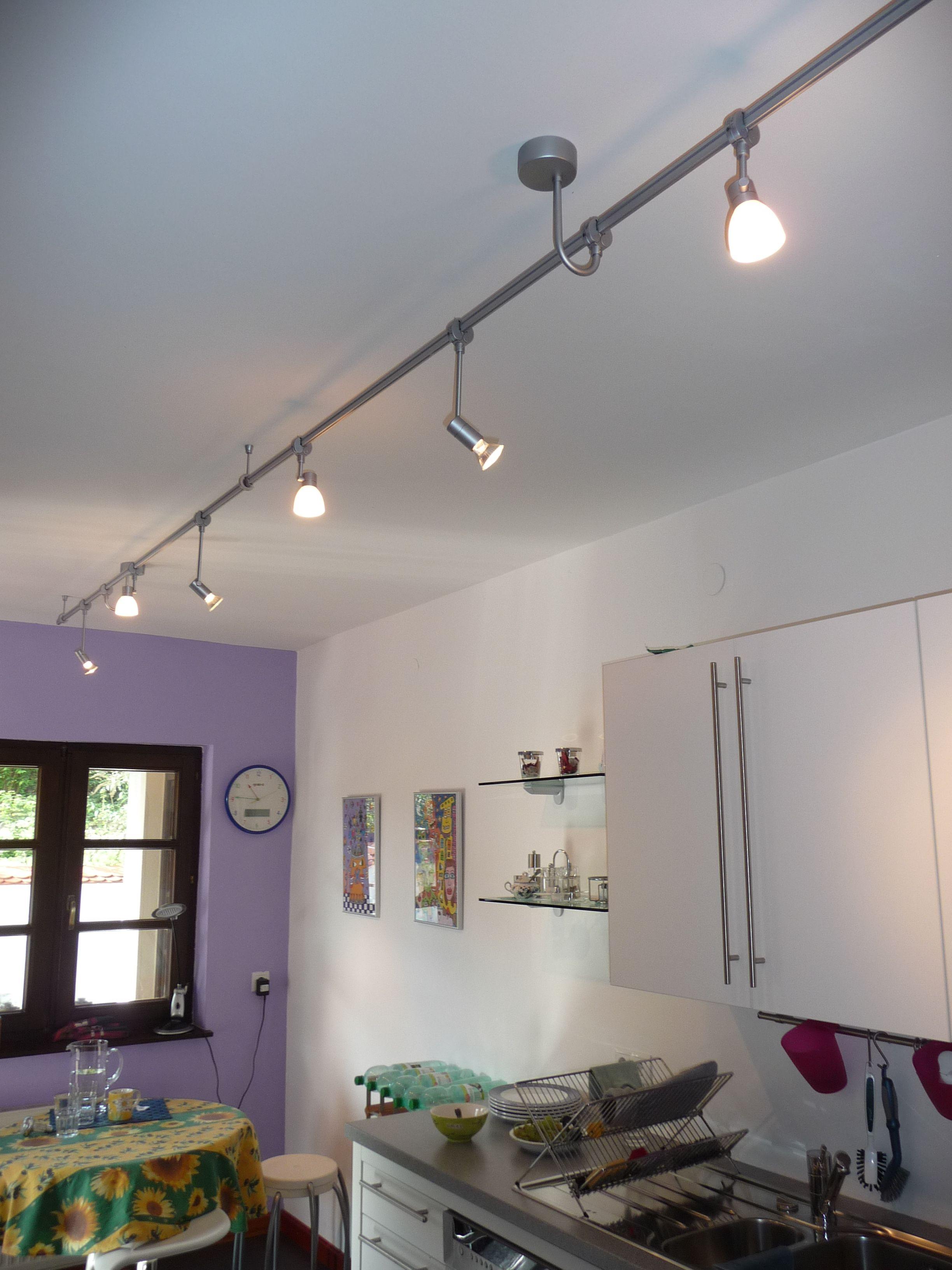 Schiene 230V Küche 2 | interior ideas | Pinterest | Seilsysteme ...