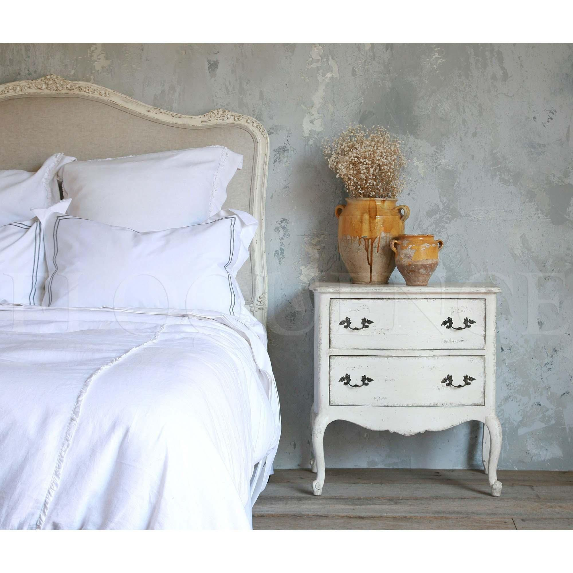 Eloquence Clementine Nightstand In Our Antique White Or