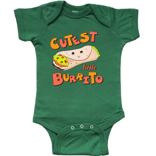 b0b82787201 Inktastic Cutest Little Burrito Infant Creeper Baby Mexican Food Cute Bundle  Kid  affiliate