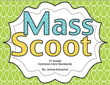 Get your students moving around the classroom and talking about math! Practice or review mass in a fun way by using these cards to play Scoot or for a classroom Scavenger Hunt. These cards are aligned to the 3rd grade common core standards for measurement.