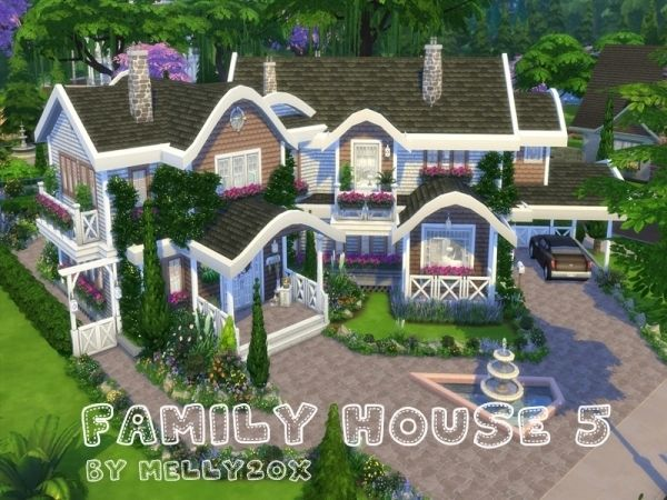 Family House 5 The Sims 4