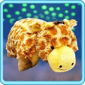 """Pillow Pets Dream Lites - Jolly Giraffe 11"""" My nephew has one of these... So awesome"""