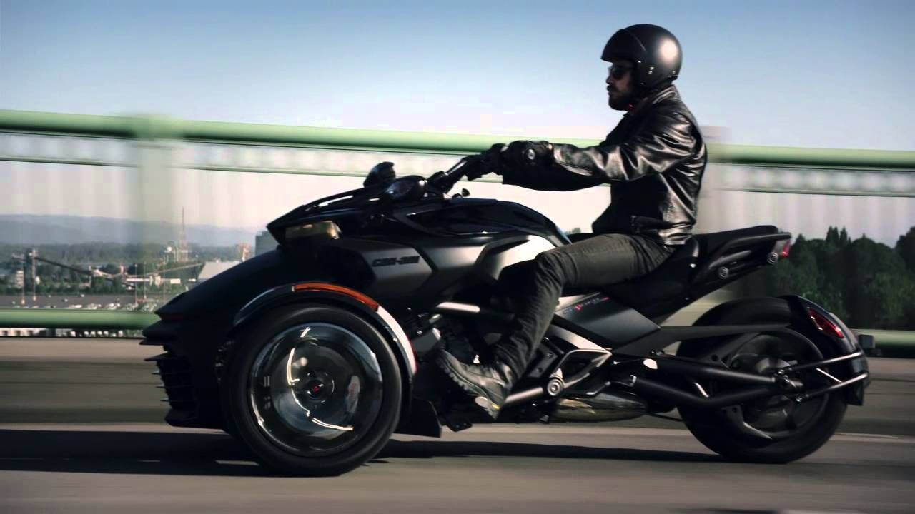 Introducing The All New 2016 Can Am Spyder Special Series In Triple Black Can Am Spyder Can Am Spyder