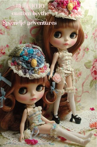 Amazing Blythe doll clothes by BUBUJOJO