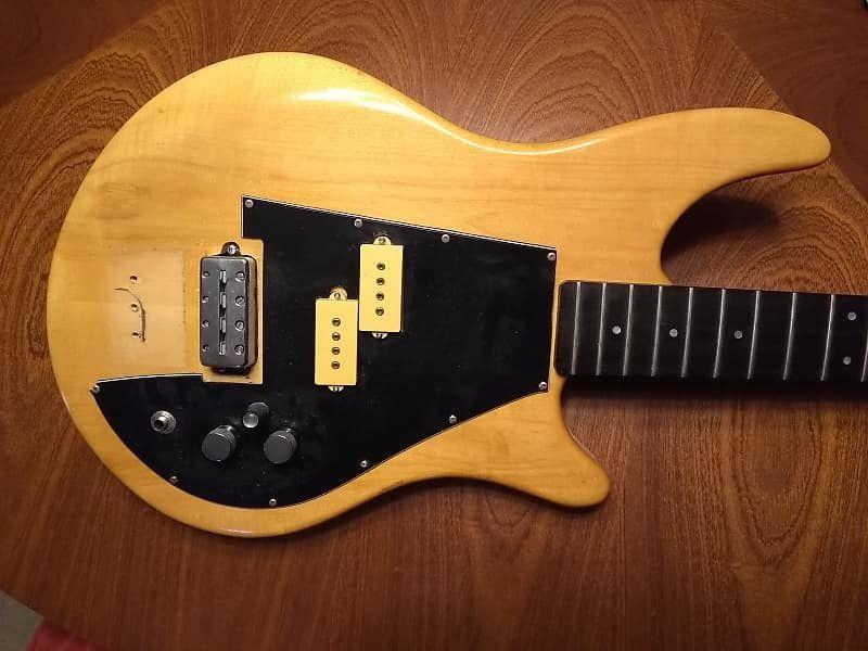 Vintage Vancouver Canada Luthier Attila Balogh Odyssey Bass Guitar Project Atilla Guitaros Reverb Guitar Bass Guitar Bass