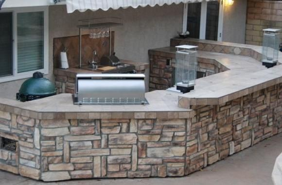 Green Egg Enclosure  Google Search  Backyard Ideas  Pinterest Mesmerizing Outdoor Kitchen Designers Inspiration