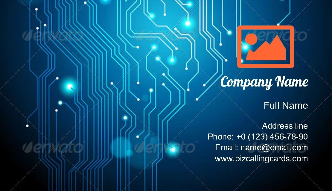 Circuit Board Texture Business Card Template Business Card Texture Business Card Template Card Template