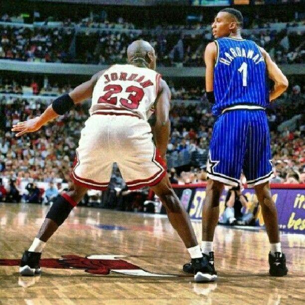 Penny Hardaway vs. Jordan   Desporto