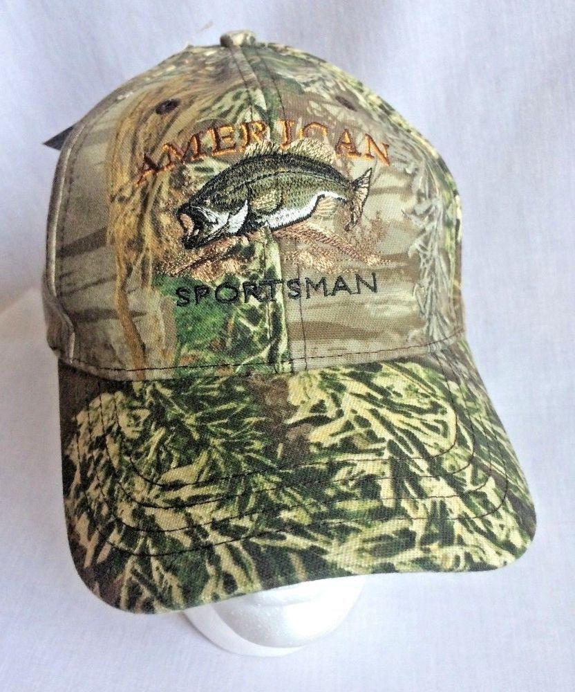 Advantage Camo Mens Ball Cap Hunting Hat New With Tags American Sportsman   Paramount  BaseballCap bb1f28ea1459