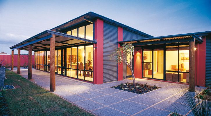 The Rural Building Co Rivergums Skillion. Awesome Eco design and ...