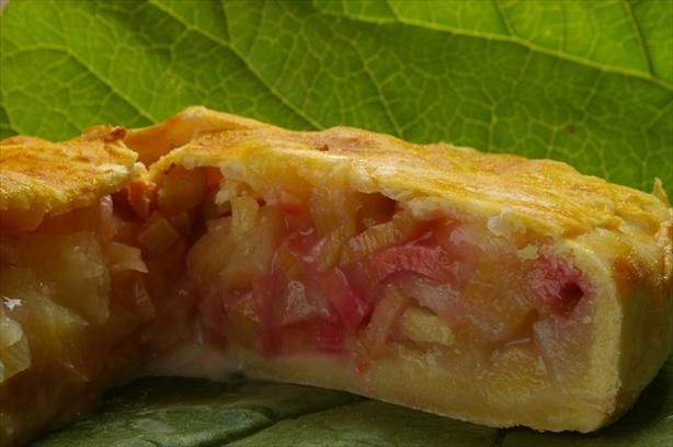 Rhubarb Pineapple Pie....different And Delicious! Recipe - Low-cholesterol.Food.com