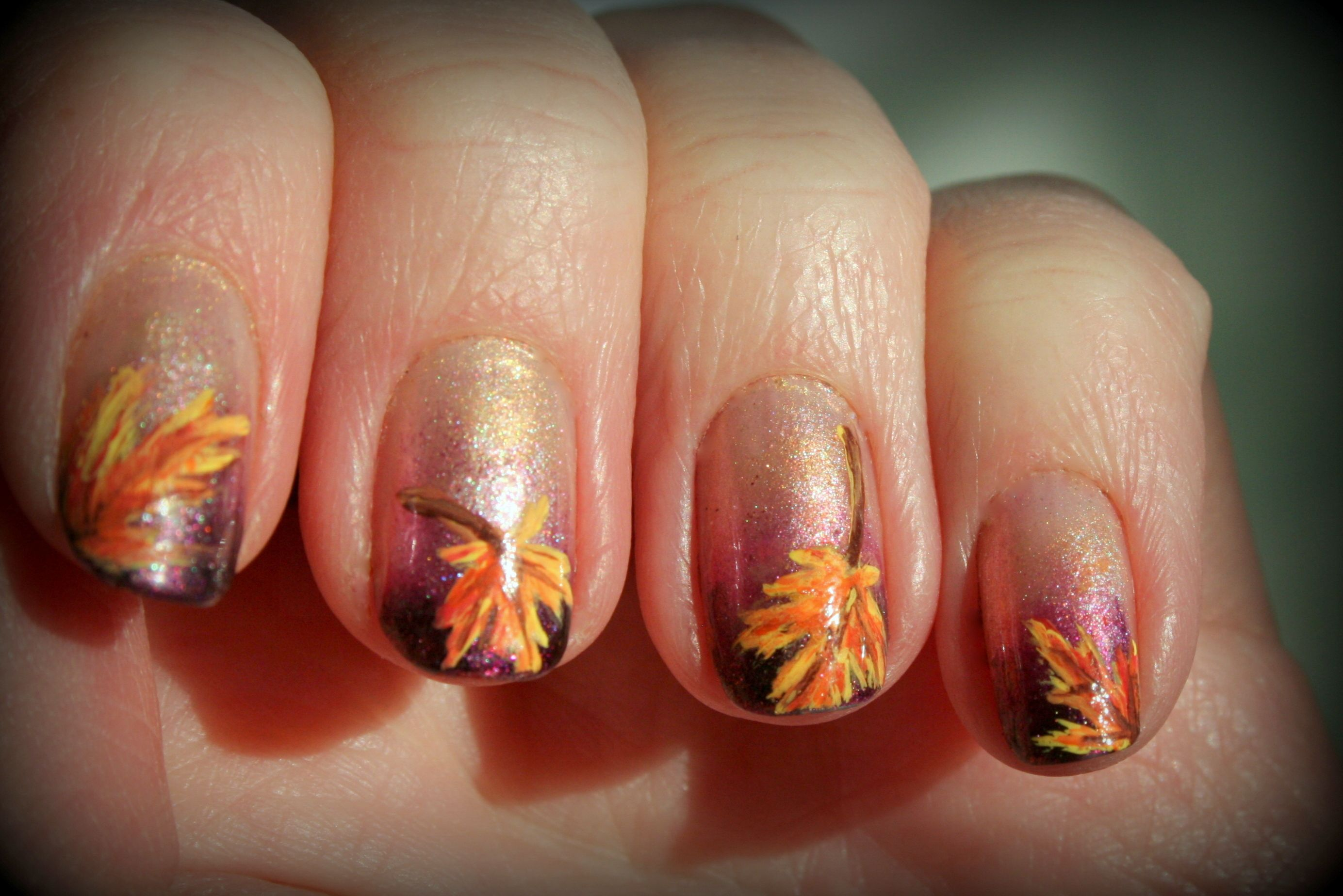 1000+ images about Nail Art - Fall/Thanksgiving on Pinterest ...