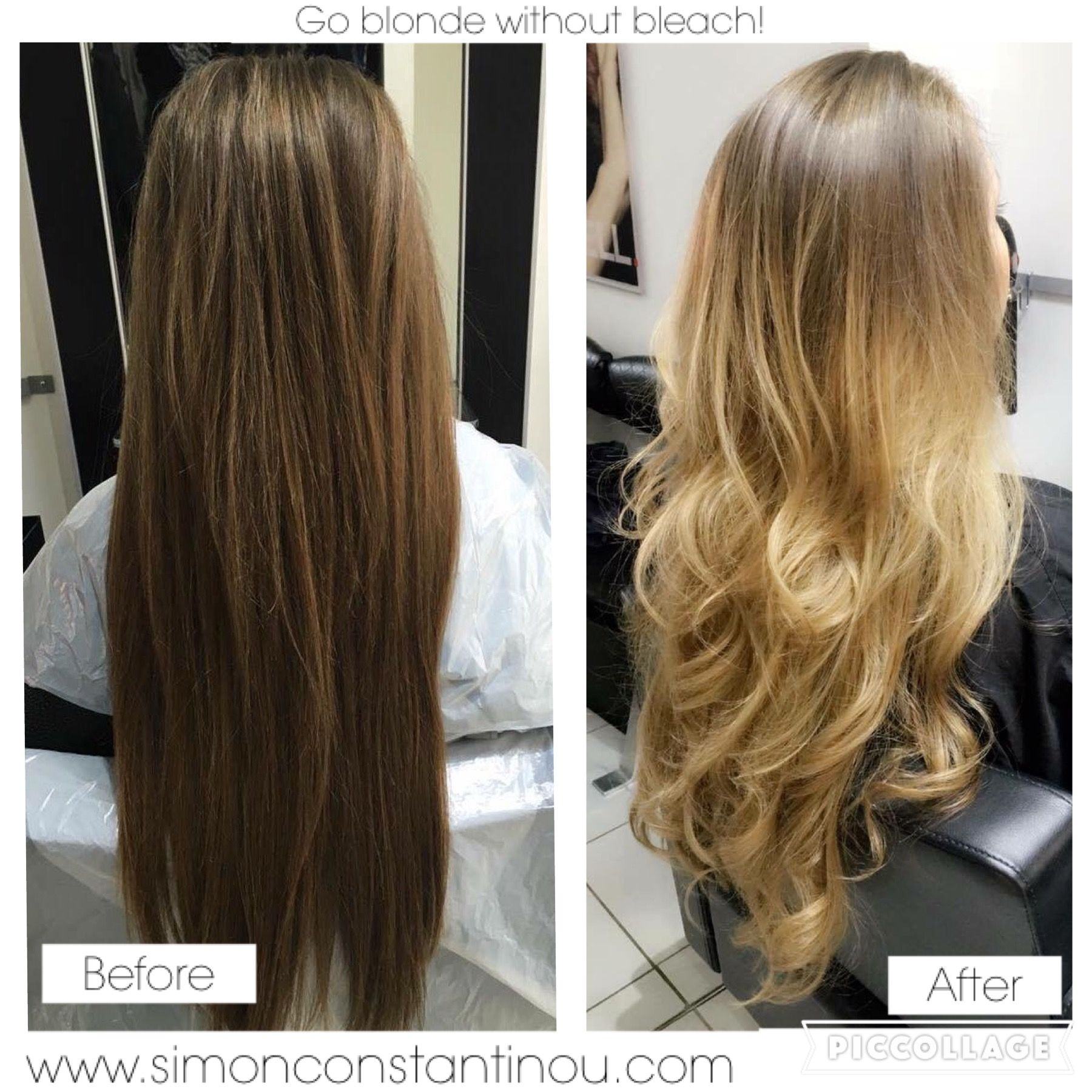 Go Lighter Without Bleach Ombre Balayage By Zobha Call