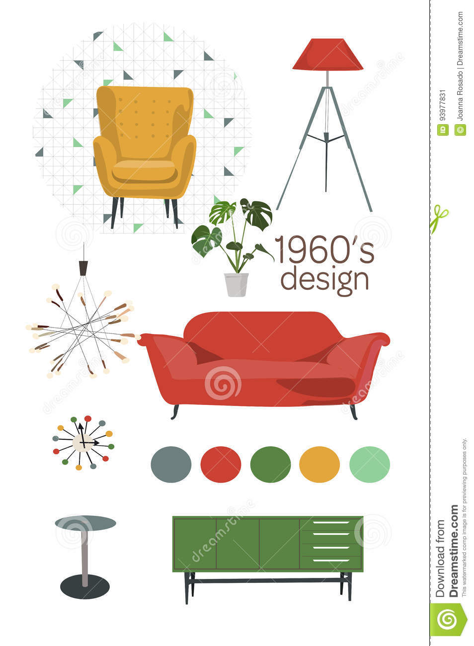 Office Furniture Vector Png