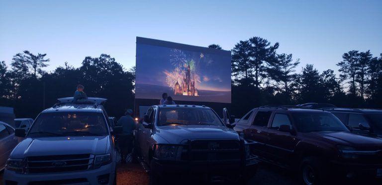 Blue ridge unplugged outdoors adventure drive in movie