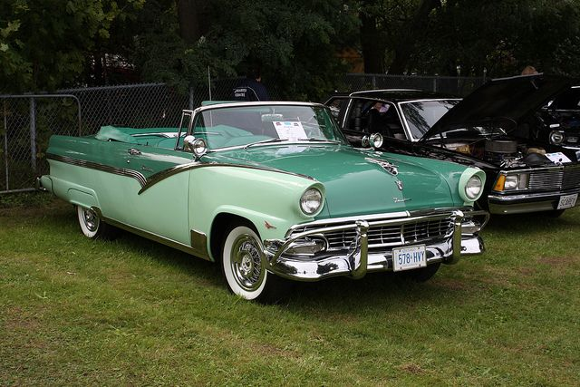 1956 ford convertibles | 1956 Ford Fairlane Sunliner convertible