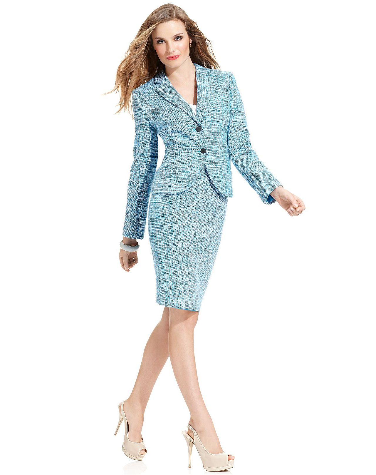 Skirt suits, uniforms, amazing dresses... | FASHION *Clothes ...