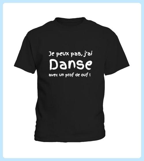 SWEAT DANSE Jai danse Person NOIR (*Partner Link)