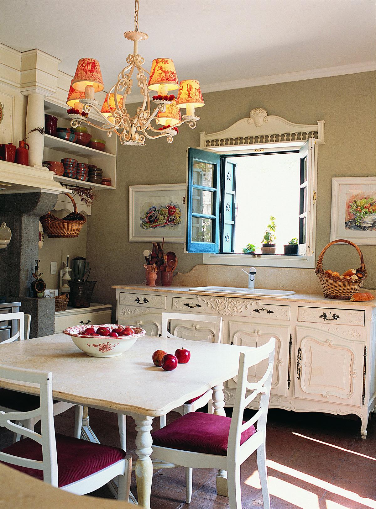 La casa encendida: Rústica y confortable entre las sierras | Cocina ...