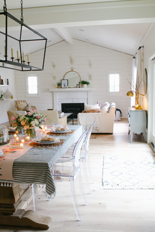 Boho Farmhouse Spring Decorating Ideas Modern Glam In 2020