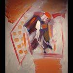 Maurizio Gerini, senza titolo  2006 acrilico su tela  70 x 60 cm