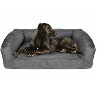 kevlar chew proof bolster dog bed