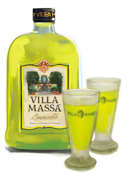 Limoncello by villa massa delicious sweet great added for Cocktail limoncello
