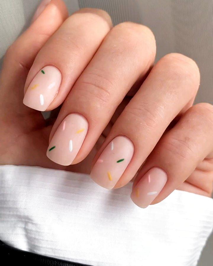 15 geniales ideas de manicura para uñas cortas | Belleza