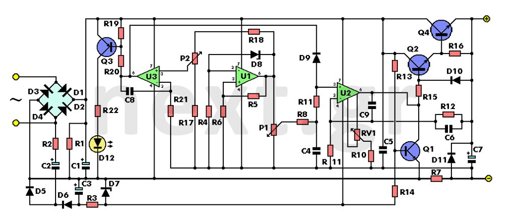 Pin on DC power supply