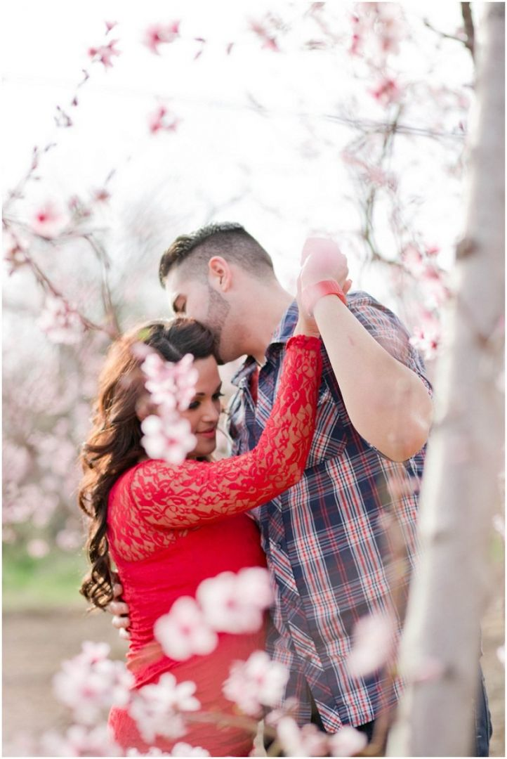 Love Valentines Day Wedding Couple Shoot Photoshoot Session Blossoms