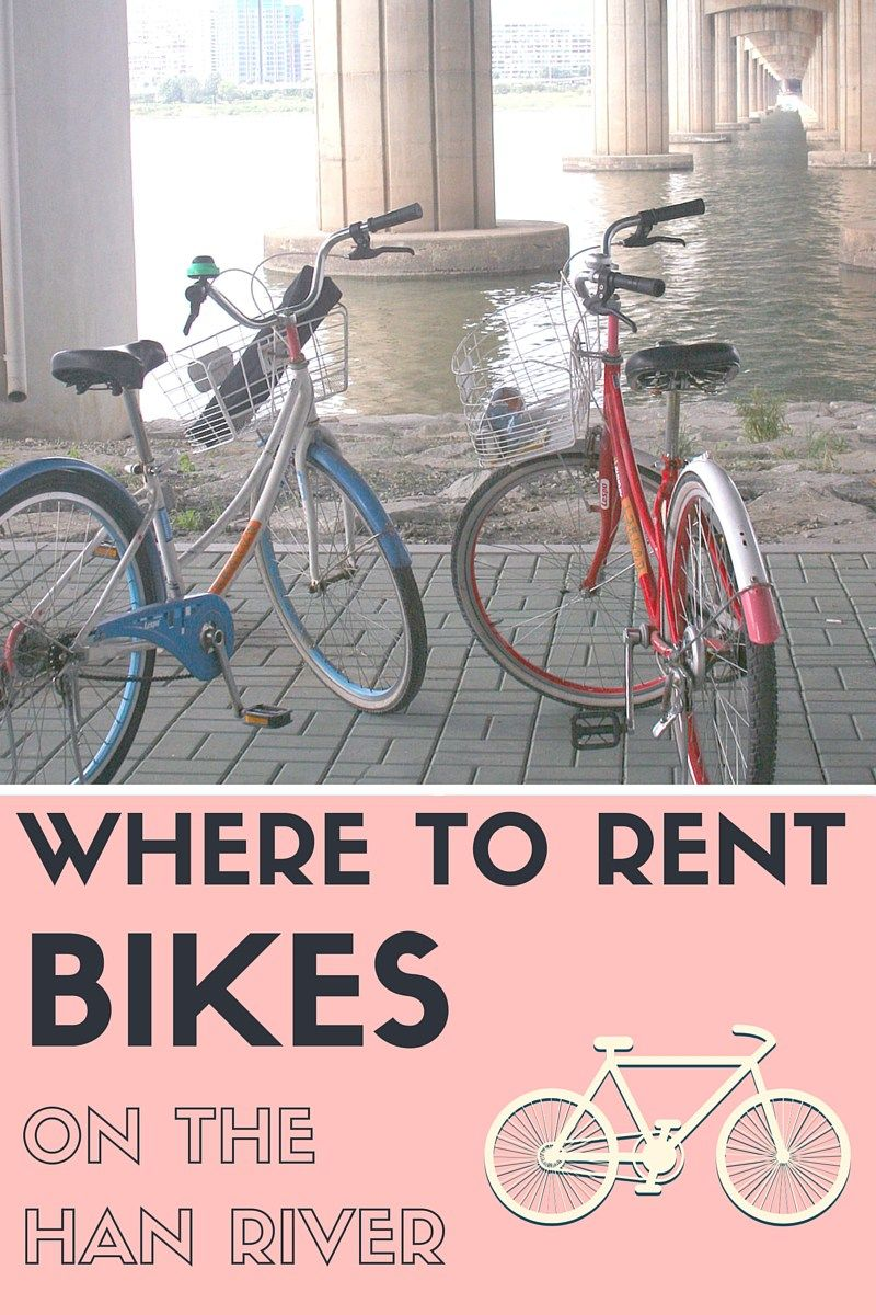 Let S Go To The Han River And Rent Bikes Han River South