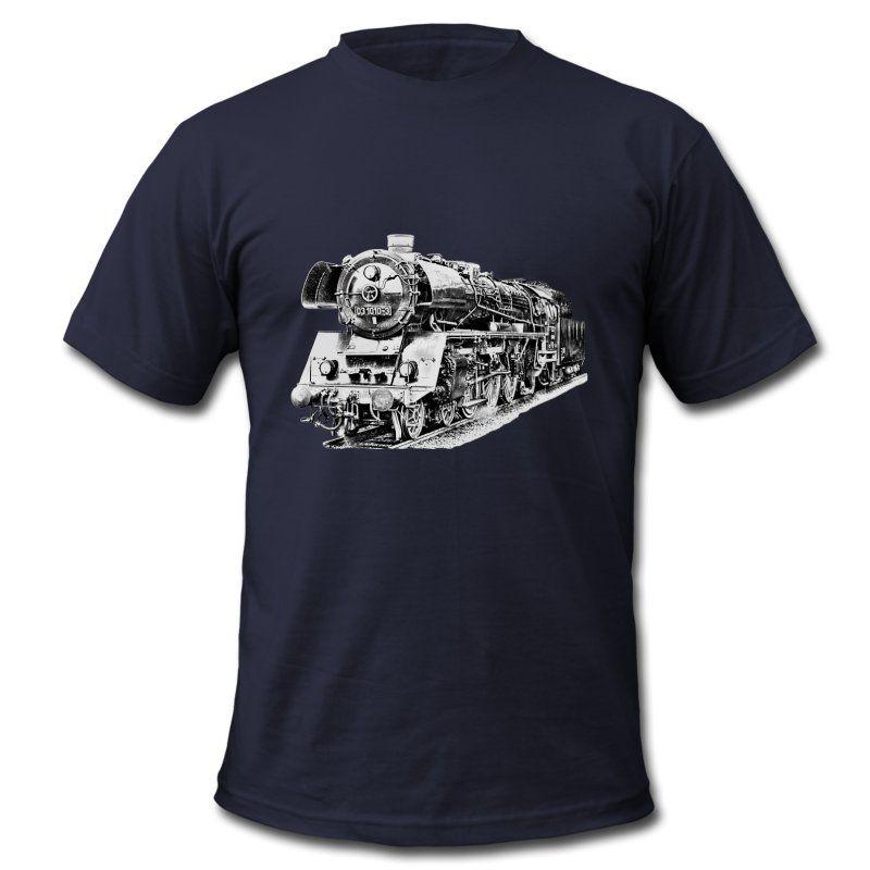 Motiv für Fans von Dampflokomotiven.