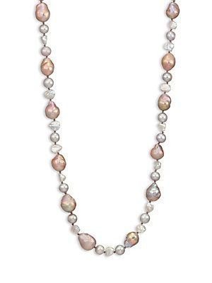 Chan Luu Long 9-12MM Potato & Cultured Freshwater Pearl Necklace -