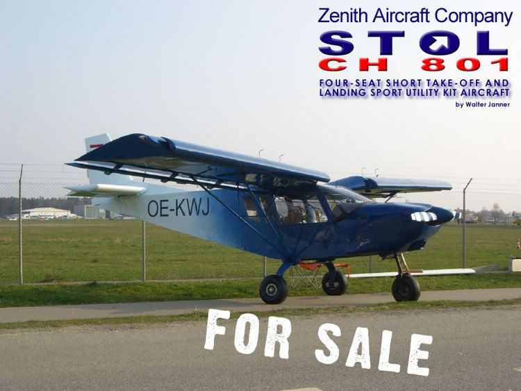 2002 Zenith Stol Ch 801 For Sale Details Http Www